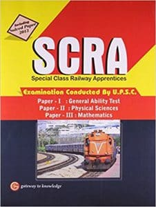 SCRA Books Best Reference Books on UPSC (Special Class Railway Apprentices) 2019
