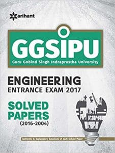 IPU CET 2019 Books for Engineering Entrance GGSIP IP University