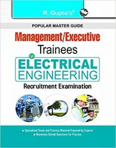 Books and Study Materials for Management Trainees Executive Recruitment Examinations 2019
