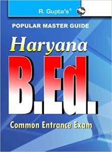 Haryana B.Ed. 2019 Entrance Books Best Reference Books