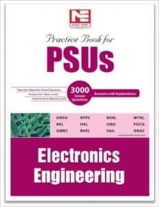 PSU EC 2019 Electronics Books Public Sector Best Books 2019 study materials