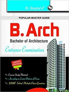 B.Arch 2019 Entrance Books Bachelor Of Architecture Best Reference books