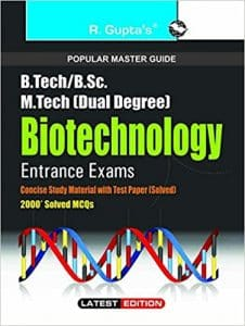 Biotechnology Entrance Books Best reference Books 2019 Study Materials