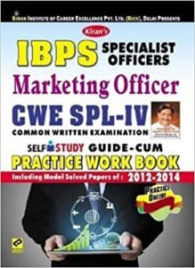 IBPS CWE Study Materials Books For Probationary Officer & Management Trainee Common Written Examination-2019