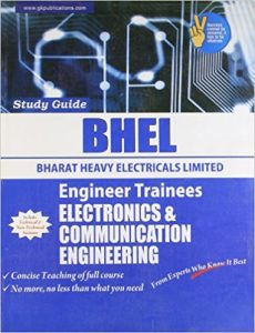 BHEL 2019 Electronics Supervisor Trainees Books Papers Study Materials