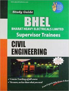 BHEL 2019 Civil Engineering Supervisor Trainees Books Papers Study Materials