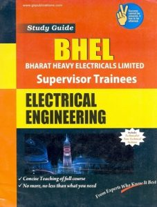 BHEL BHEL 2019 Mechanical Engineering Supervisor Trainees Books Papers Study Materials Electrical Engineering Supervisor Trainees Books Papers Study Materials