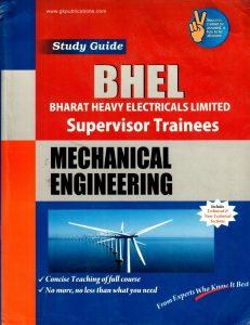 BHEL 2019 Mechanical Engineering Supervisor Trainees Books Papers Study Materials