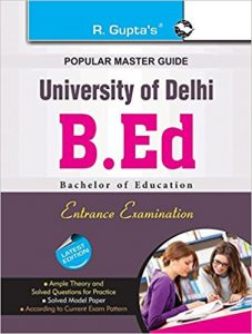 B.Ed Entrance Books 2019 Study Materials Best Reference Books