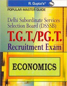 DSSSB PGT Economics Exam 2019 Question Papers Books