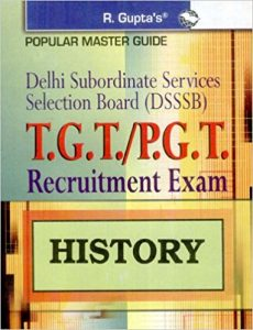 DSSSB PGT History Exam Exam 2019 Question Papers Books