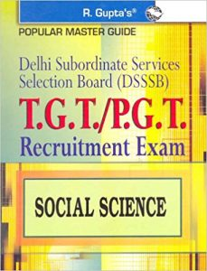 DSSSB TGT 2019 Social Science Exam Question Papers Books