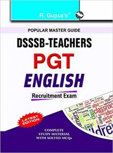 DSSSB PGT English Exam 2019 Question Papers Books