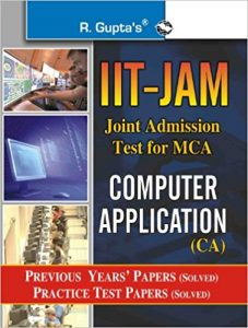 IIT JAM 2019 Computer Application Books Reference Book MCA