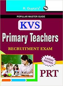 KVS Primary Teacher 2019 (PRT) Exam Books Study Materials