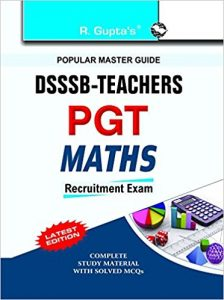DSSSB PGT Mathematics Exam 2019 Question Papers Books