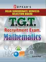 DSSSB TGT 2019 Mathematics Exam Question Papers Books
