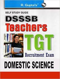 DSSSB TGT 2019 Domestic Science Question Papers Books