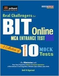 BIT MCA 2019 Entrance Books Study Materials