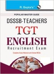 DSSSB TGT 2019 English Exam Question Papers Books