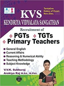 KVS PGT TGT 2019 Exam Books Guide Tips Materials