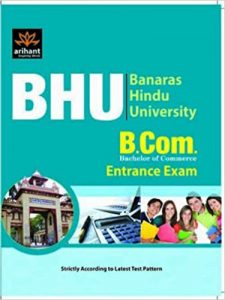 BHU B.Com (Honours) Entrance Books Study Materials UET Entrance Exam 2020-2021
