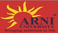 Arni University Admission