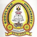 Bodoland University Admission 2019-20