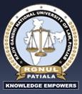 Rajiv Gandhi National University of Law Admission