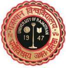 University of Rajasthan Admission