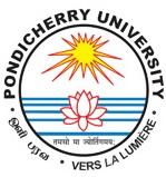 Pondicherry University M.Sc. Biotechnology Entrance 2016