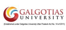 Galgotias University Admission