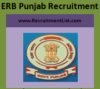 Jobs in ERB Punjab Recruitment 2017 Apply Online www.educationrecruitmentboard.com