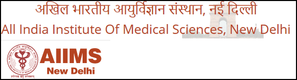 AIIMS Delhi Recruitment 2017