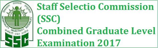 Jobs in SSC CGL Recruitment 2017 Apply Online www.ssc.nic.in
