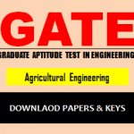 Download GATE AG Question Paper
