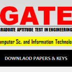 Download GATE CS Answer Keys