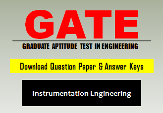 GATE IN Question Paper 2020 with Answer Keys