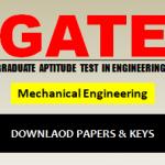 Download GATE ME Answer Key