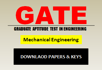 GATE ME Question Paper 2020 with Answer Keys
