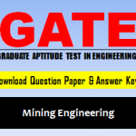 Download GATE MN Question Paper