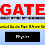 GATE Physics Question Paper
