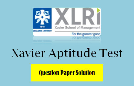 XAT Solved Question Paper 2020 with Solution