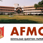Armed Forces Medical College Question Paper 2020