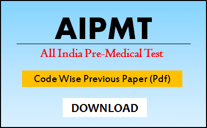 AIPMT Code Wise Question Paper 2020