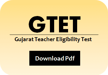 GTET Language I Sample Question Paper 2020