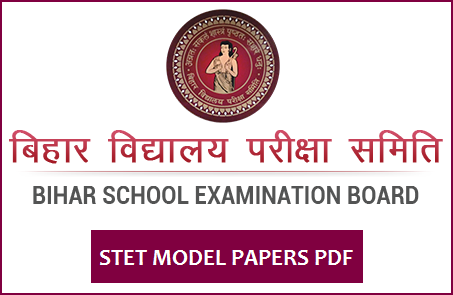 STET Secondary Model Question Paper 2020