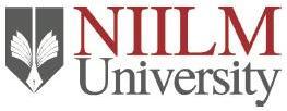 NIILM University Admission