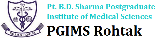 Jobs in PGIMS Rohtak Recruitment 2017 Download Application Form www.pgimsrohtak.nic.in