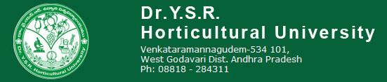 Jobs in Dr. YSR Horticultural University Recruitment 2017 Download Application Form www.drysrhu.edu.in